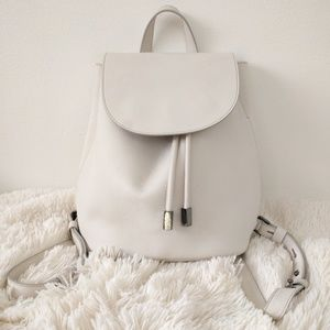 Everlane Petra White Backpack